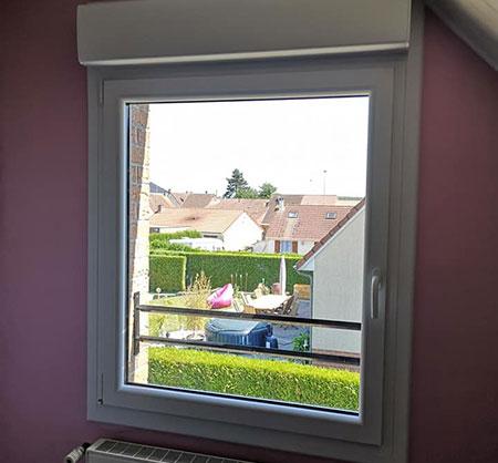 Pose de fenêtres près de Douai