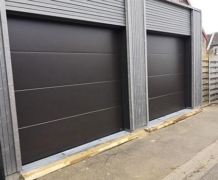 Pose de portes de garage près de Douai